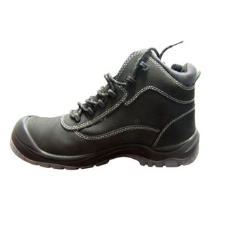 IMPACT-A Safety Boots - Black Lace Up - ISBLU3203B