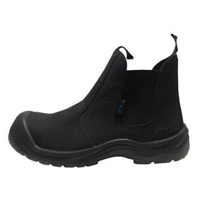 IMPACT-A Safety Boots-Black Slip On-ISBSO32022B