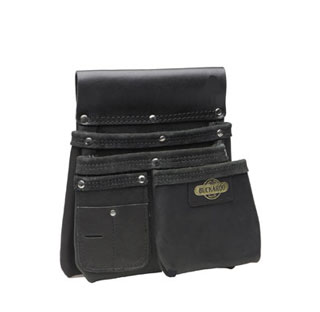 BUCKAROO 2 Large, 1 Small Pocket Nailbag